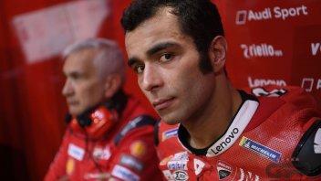 """MotoGP: Petrucci: """"Sono un pilota nuovo grazie a Dovizioso"""""""