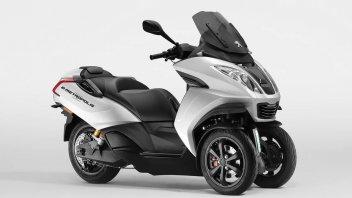 News Prodotto: Peugeot: svelato il concept E-Metropolis, l'elettrico a 3 ruote