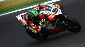 "SBK: Laverty: ""L'incidente? Come se avessi visto la Madonna"""