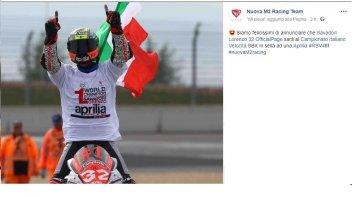 SBK: Lorenzo Savadori nel CIV con l'Aprilia