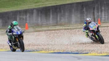 MotoAmerica: At Road Atlanta, Beaubier exploits Elias' mistake and wins