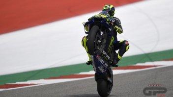 """MotoGP: Rossi: """"Buone sensazioni sulla M1 ad Austin"""""""