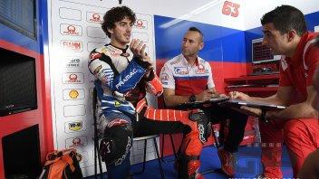 """MotoGP: Bagnaia: """"La pista è al limite, non ancora pericolosa ma quasi"""""""