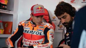 """MotoGP: Marquez: """"Il cucchiaio? Crea downforce, ma non si può dire"""""""