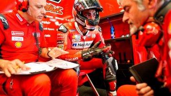 """MotoGP: Petrucci: """"Sono preoccupato, la Ducati non ha stabilità"""""""