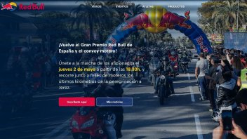 MotoGP: Red Bull bikers parade to the Jerez GP
