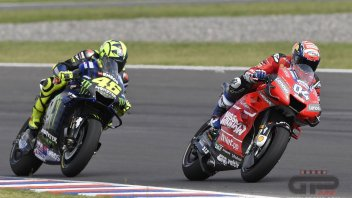 MotoGP: Dovizioso: If Rossi were to suffer because of his defeats now, he'd self-destruct.