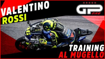 MotoGP: Sulla Yamaha R1 di Rossi in pista al Mugello