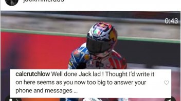 MotoGP: Cruchlow jokes: Jack I use Instagram because you don't answer the phone!