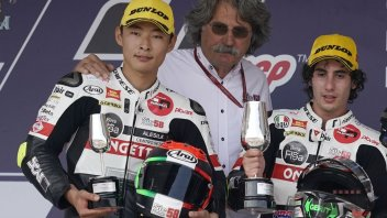 "Moto3: Paolo Simoncelli: ""Marco worked for us from up there"""