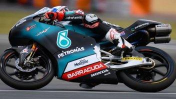 Moto3: WUP: McPhee beffa di un soffio il duo SIC58 Squadra Corse