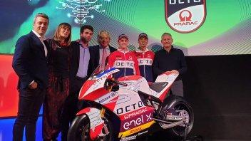 "MotoE: Team Octo Pramac pronto ed ""elettrizzato"" con De Angelis e Hook"