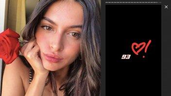 MotoGP: Marquez vince anche il cuore di Lucia Romero a Le Mans