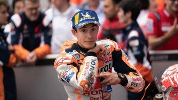 """MotoGP: Marquez: """"Oggi per la pole dovevi essere intelligente, non veloce"""""""
