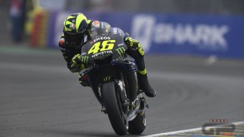 "MotoGP: Rossi: ""The slicks? I didn't need courage, but experience."""