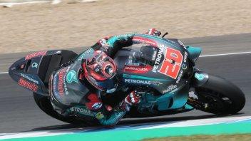 MotoGP: Quartararo imprendibile nei test del lunedì, 17° Rossi