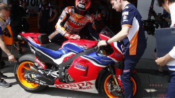 "MotoGP: Marquez: ""the 'carbon' Honda? I won't use it in the race"""