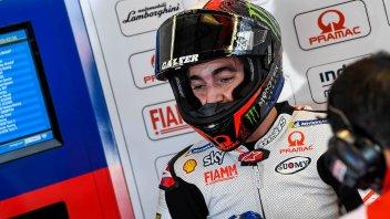 "MotoGP: Bagnaia: ""Vinales? Espargarò ha chiuso la linea e l'ho centrato"""
