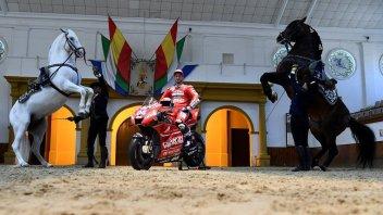 MotoGP: Dovizioso a Jerez incontra i due aspetti della sua anima...equina
