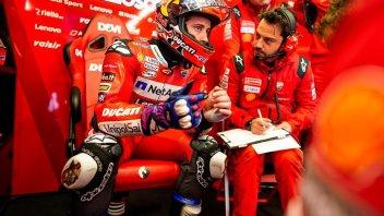 MotoGP: Dall'Igna lo punge, ma Dovizioso ha la sua strategia