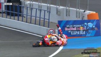 MotoGP: Honda: un guaio misterioso non basta a fermare Marquez