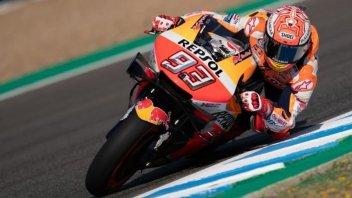 MotoGP: Marquez senza rivali a Jerez, 4° Dovizioso, 6° Rossi