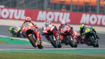 MotoGP: Marquez corre sul filo rosso contro Dovizioso al Mugello