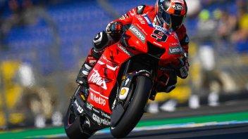 """MotoGP: Petrucci: """"La caduta ha complicato i piani, ma sono veloce"""""""