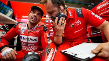 """MotoGP: Pirro scherza sull'incidente: """"questa volta ho finito il venerdì"""""""