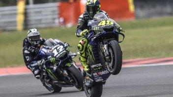 MotoGP: Rossi e Vinales, una Yamaha tra luci e ombre all'esame Jerez
