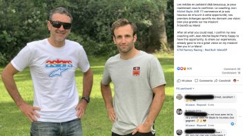 MotoGP: The new couple on Facebook: Zarco and Jean Michel Bayle