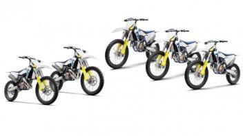 News Prodotto: Husqvarna M.Y. 2020: svelate le 2 e 4T da motocross
