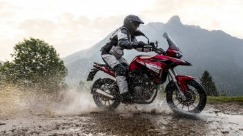 News Prodotto: Benelli TRK 251: l'enduro on-off, per i futuri motociclisti