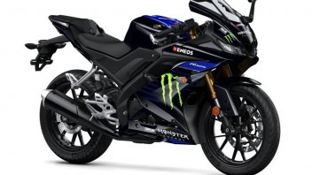 "News Prodotto: Yamaha YZF-R125 ""Monster Energy"": per sognare Valentino"