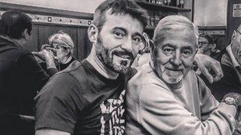 News: Lutto per Max Biaggi: si è spento il papà Pietro