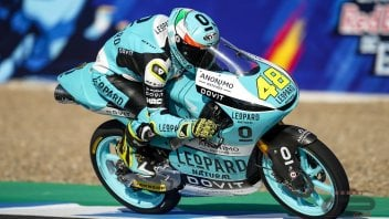 Moto3: Prima pole in carriera per Dalla Porta a Jerez, 3° Vietti