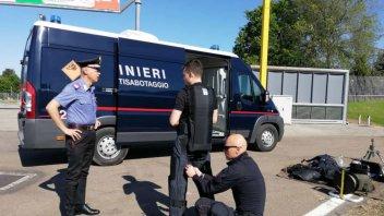 News: Falso allarme bomba al Mugello, fatta brillare una valigia