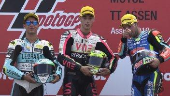 """Moto3: Arbolino: """"E' stata la gara più bella della mia vita"""""""