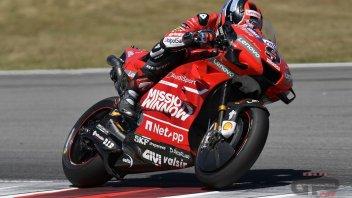 """MotoGP: Petrucci: """"Ho accordato la Ducati: ora gira di più"""""""