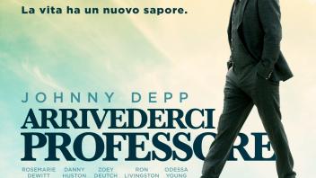 Cinema: Arrivederci Professore: commedia drammatica con uno sregolato Johnny Depp
