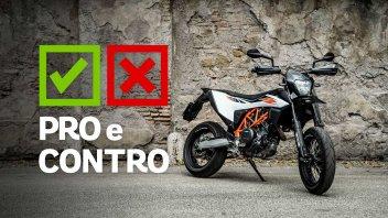 Moto - Test: KTM 690 SMC R 2019, pro e contro