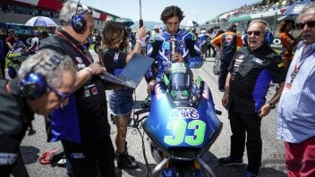 "Moto2: Bastianini: ""Moto2 is great, but I dream of racing with a 2-stroke"""