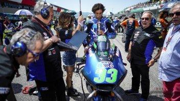 """Moto2: Bastianini: """"Bella la Moto2, ma sogno di correre con una 2 tempi"""""""
