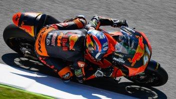 Moto2: FP2: Binder e la KTM tornano ai piani alti, 7° Marini