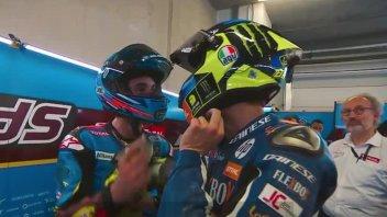 """Moto2: A. Marquez: """"Baldassarri? La mia reazione è stata sbagliata"""""""