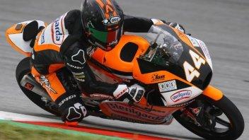 Moto3: FP3: Canet di un soffio su Antonelli, paura per Riccardo Rossi