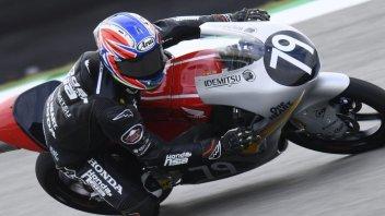 Moto3: FP1: Ogura celebra la Honda con il 1° posto ad Assen