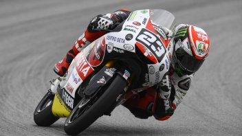 Moto3: Pioggia di penalità: Antonelli retrocesso di 12 posizioni in griglia
