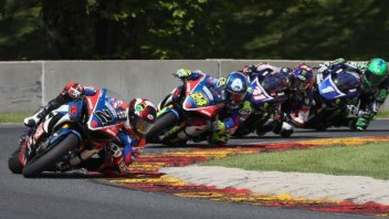 MotoAmerica: Elias in the gravel at Elkhart Lake, Herrin's revenge