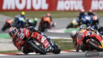 "MotoGP: Dovizioso: ""Lorenzo was not clearheaded, he must be penalized"""